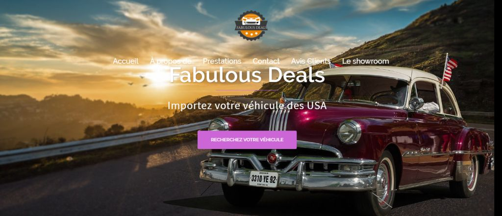 American Cars – Agence automobile online