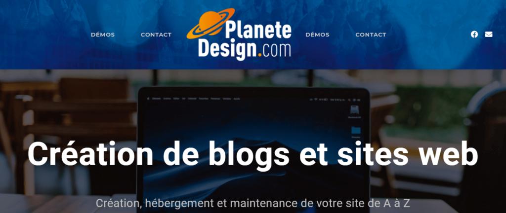 Planete Design est en ligne